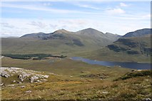 NH1476 : View SE from Meall an t-Sithe by Dorothy Carse