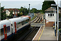 SY8486 : Wool Station, Dorset by Peter Trimming