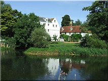 TL9133 : Bures Mill by Keith Evans