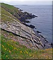 HY6033 : Coastline, Spur Ness, Sanday, Orkney by Claire Pegrum