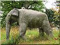 SJ9922 : Concrete elephant by Stephen Craven
