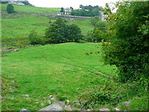 SE0813 : The Colne Valley Circular Walk descending to Bradley Brook by Humphrey Bolton