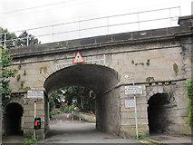 SJ9922 : Railway bridge at Great Haywood by Stephen Craven