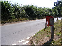 TM3193 : Church Road & Smiths Knoll George VI Postbox by Adrian Cable