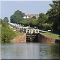 ST9761 : Caen Hill Locks by Oast House Archive