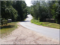 TM3193 : Church Road, Hedingham by Adrian Cable