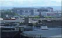 NS6164 : Glasgow rooftops - Celtic Park by Thomas Nugent