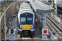 J3271 : Train refuelling, Belfast by Albert Bridge