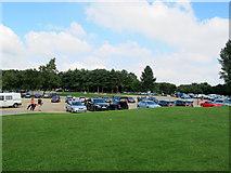 SK9308 : Rutland water north shore car park by Stephen Craven