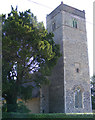 TM3395 : St.Mary's Church, Thwaite St.Mary by Adrian Cable