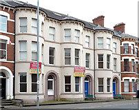 J3472 : Nos 131-135 University Street, Belfast by Albert Bridge