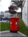 SC4594 : Double Post Box in Ramsey by Richard Hoare