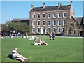 NZ2742 : Palace Green and Cosin's Hall, Durham by Neil Theasby