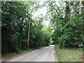 TQ8054 : Otham Lane, near Bearsted by Chris Whippet
