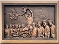 SD6409 : Nat Lofthouse Commemorative Plaque by David Dixon