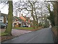 SP1871 : Houses on Station Road, Kingswood by Robin Stott