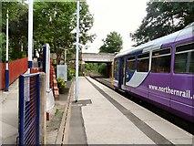 SJ9588 : Rose Hill (Marple) Station by Gerald England