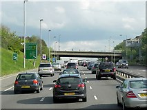 TQ4077 : Charlton Road (B210) Crossing the A102 by David Dixon