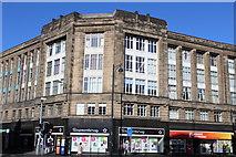 NT2473 : Corner of Fountainbridge & Lothian Road, Edinburgh by Leslie Barrie