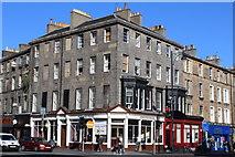 NT2473 : Corner of Morrison Street & Lothian Road, Edinburgh by Leslie Barrie