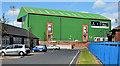 J3674 : The Oval, Belfast (3) by Albert Bridge