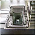 NZ2563 : Stairwell at Baltic Arts Centre by David P Howard