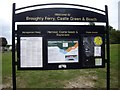 NO4630 : Welcome to Broughty Ferry, Castle Green & Beach by Stanley Howe