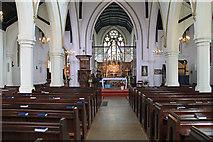 TQ2374 : St John the Evangelist, Putney - East end by John Salmon