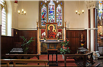 TQ2374 : St John the Evangelist, Putney - Lady chapel by John Salmon
