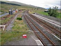 NH1658 : North east from the footbridge by Richard Dorrell