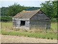 TL1488 : Well weathered shed in Caldecote by Richard Humphrey