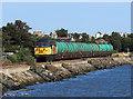 NS9885 : Class 56 locomotive at Culross by William Starkey