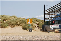 TQ9618 : Meeting point J, Camber Sands by N Chadwick
