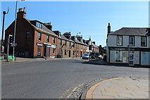 NS4927 : Junction of Earl Grey Street and Loudoun Street, Mauchline by Billy McCrorie