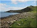 NU2522 : Looking towards Gull Crag, Embleton Bay by Graham Robson