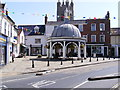 TM3389 : Butter Cross, Bungay by Adrian Cable
