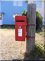 TM3489 : Beccles Road Postbox by Adrian Cable