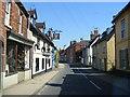 TM3389 : Bridge Street & the Chequers Inn Public House by Geographer