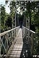 NO4297 : Cambus o'May Suspension Bridge by Anne Burgess