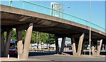 J3474 : Station Street/Bridge End flyover, Belfast (1 in 2013) by Albert Bridge