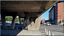 J3474 : Station Street/Bridge End flyover, Belfast (3 in 2013) by Albert Bridge