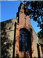 TQ0379 : The western elevation of the church at Richings Park by Shazz
