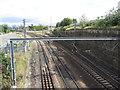NZ2462 : King Edward Bridge South Junction by Gareth James