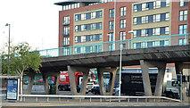 J3474 : Station Street/Bridge End flyover, Belfast (11 in 2013) by Albert Bridge