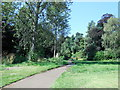 SZ0791 : Upper Gardens, Bournemouth by Paul Gillett