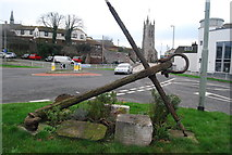 SX9473 : Anchor by the A379 by N Chadwick