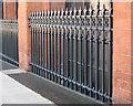 SP0687 : Railings, Cornwall Street by Robin Stott