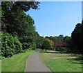 SZ0791 : Upper Garden, Bournemouth by Paul Gillett
