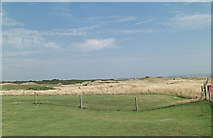 SZ2492 : Barton on Sea Golf Course east of Becton Lane by Stuart Logan