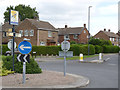 SK3730 : Roundabout at Maple Drive by Alan Murray-Rust